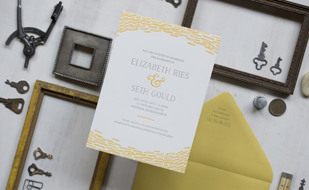 Elizabeth & Seth Wedding Invitation