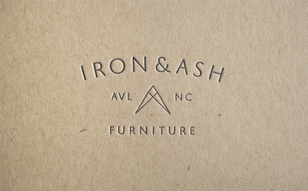 Iron & Ash Logo Design