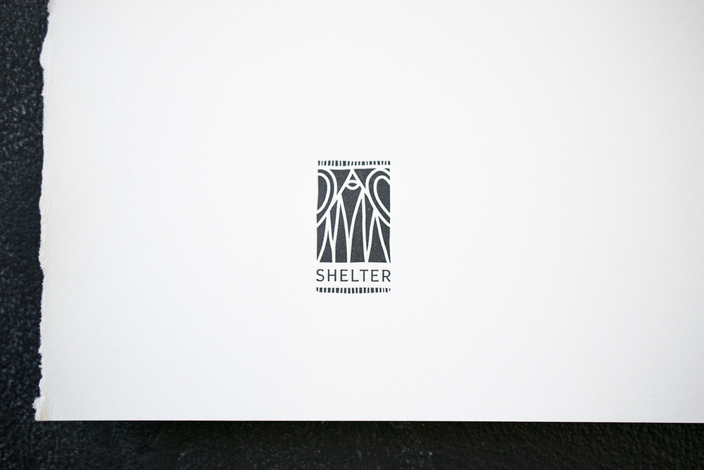 Shelter Typographic Rebrand