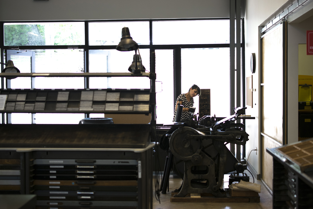 7 Ton Co. - Letterpress Studio Penland