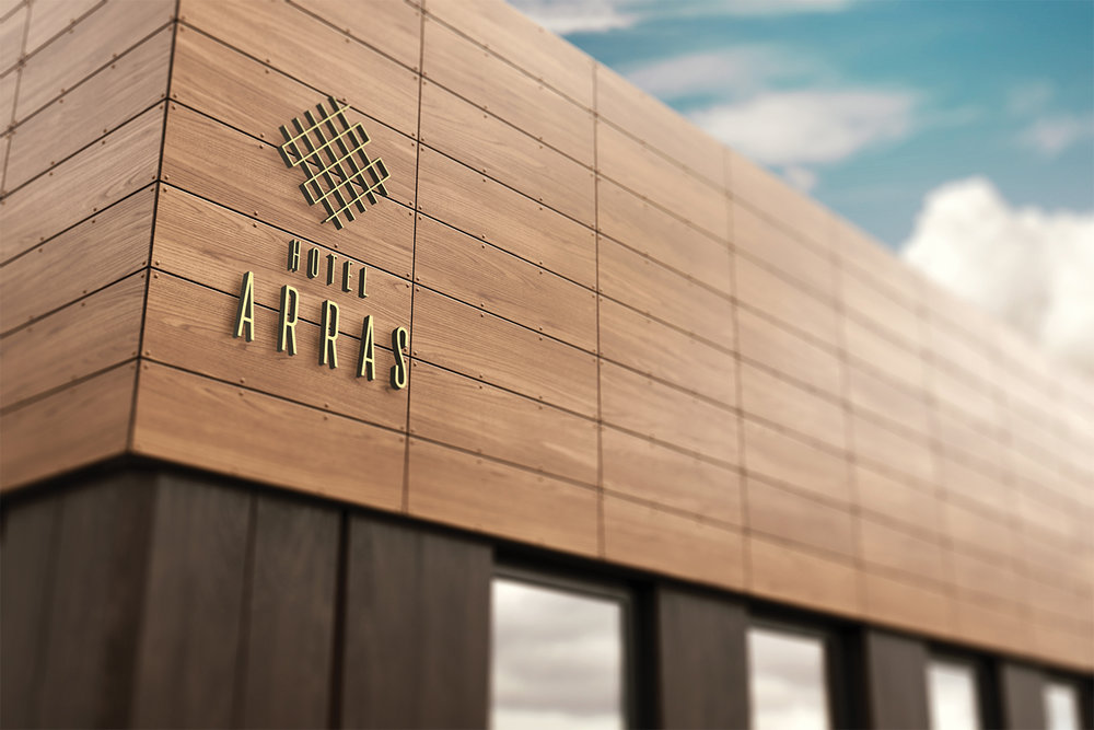 7 ton co. Arras Branding