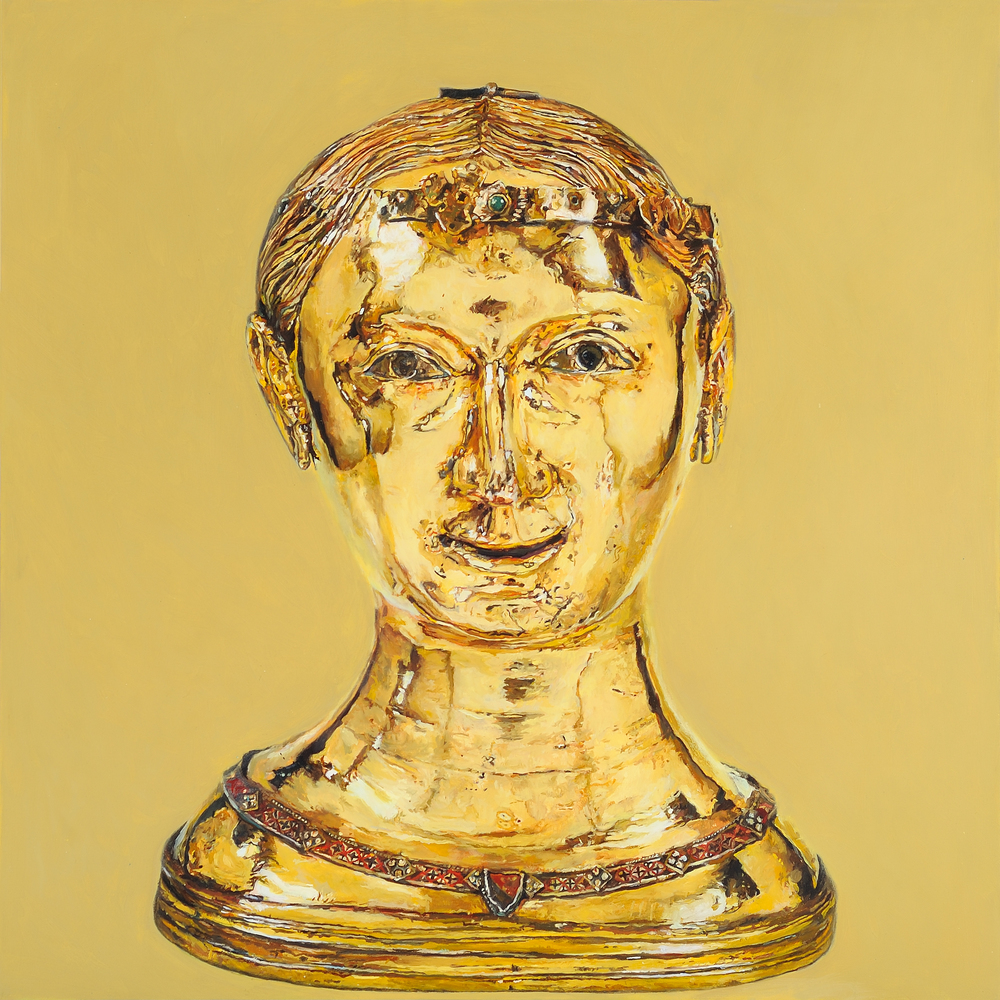 St Thecla, Bust Reliquary from the Upper Rhineland, 2010 (1)