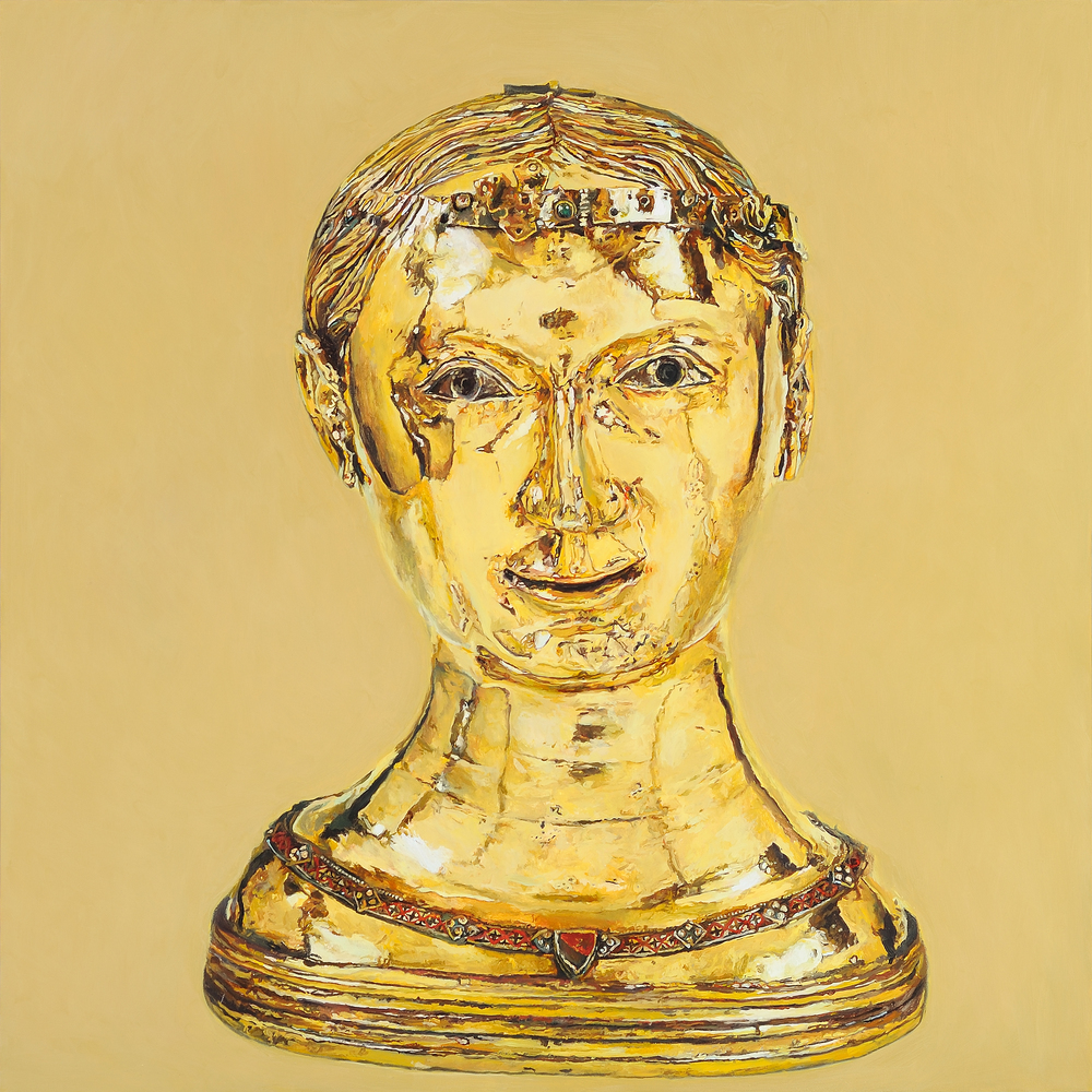 St Thecla, Bust Reliquary from the Upper Rhineland, 2010 (4)