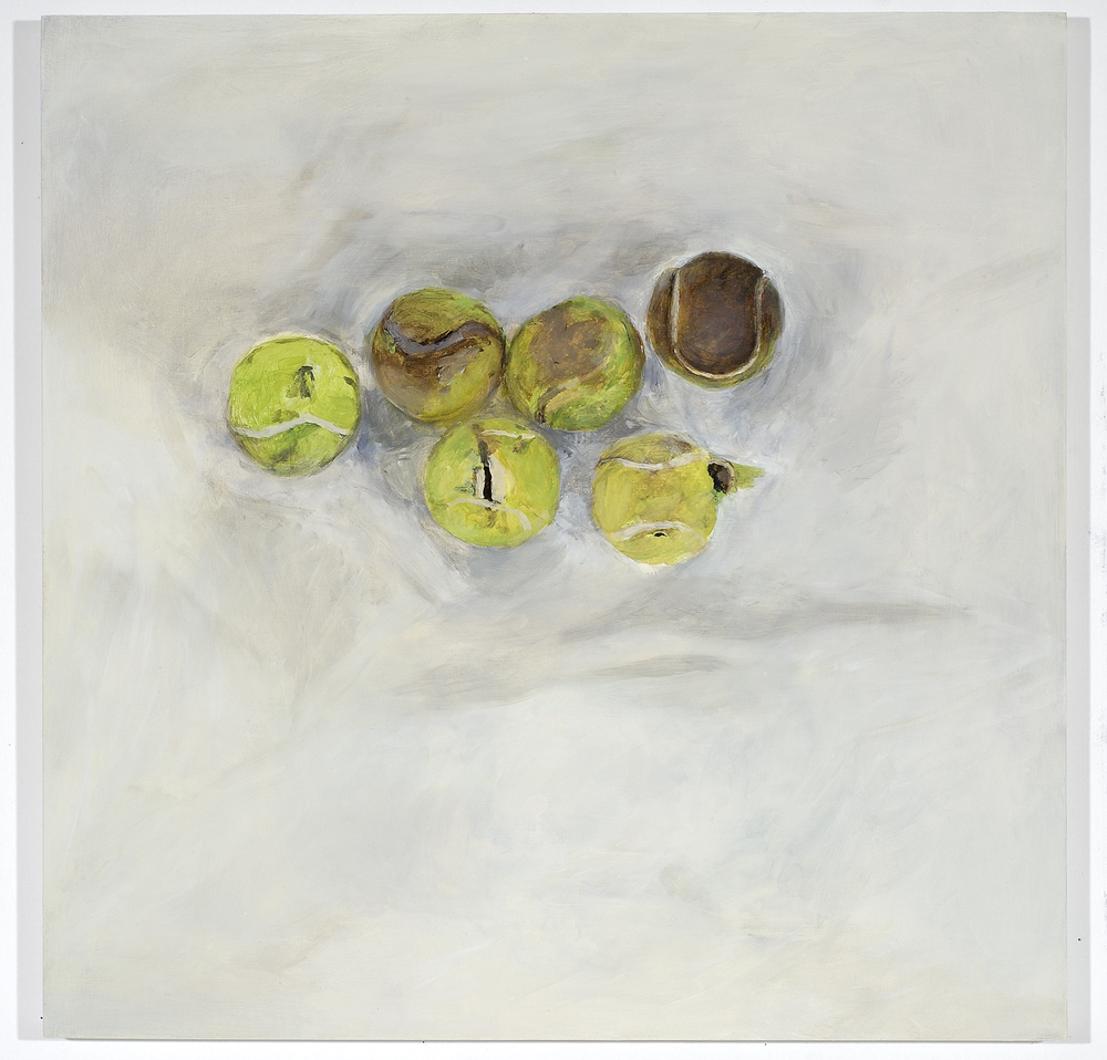 Six lost tennis balls, 2006