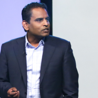 "Ram Karuppusamy, Founder & CEO, Lancesoft talks to entrepreneurs on ""Building to scale from $10M to $100M."""