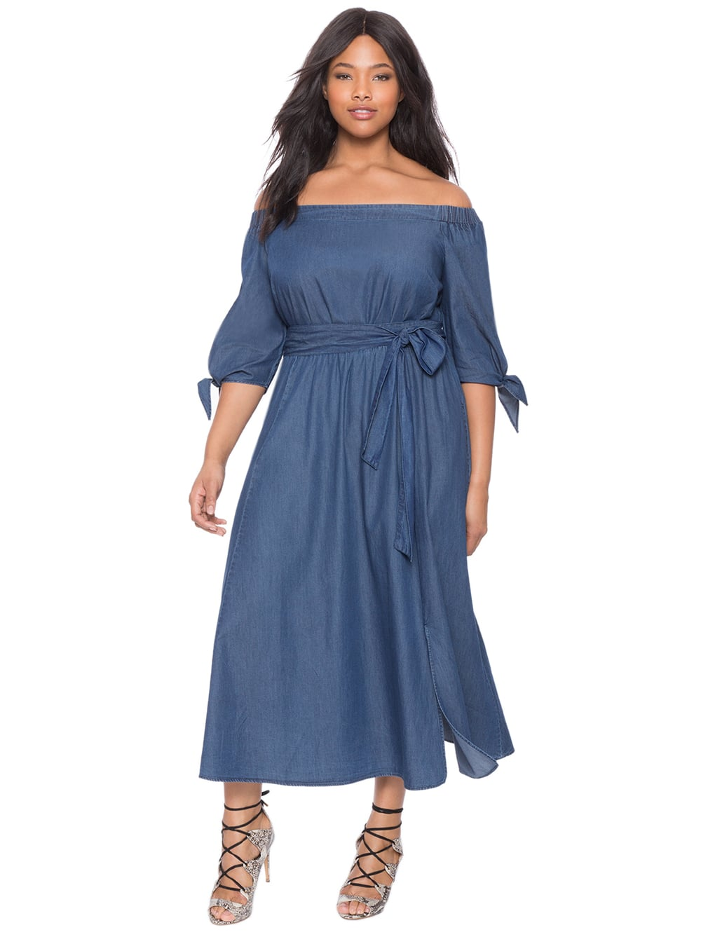 All you Eloquii lovers!  They are having a SALE that's already running.  40% Off All Original Ticket Dresses & TopsUsing the CODE: GLAM     plus up to 70% off Last Chance Sale