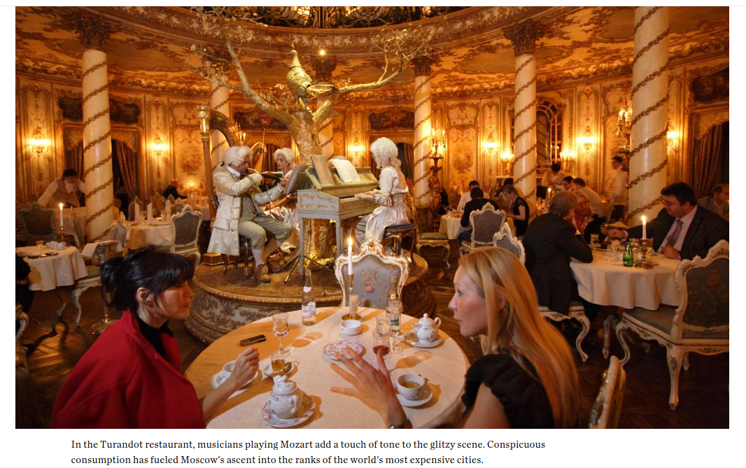 "From National Geographic, ""Moscow: Opulent, Overwhelming and Pulsing with Power"""