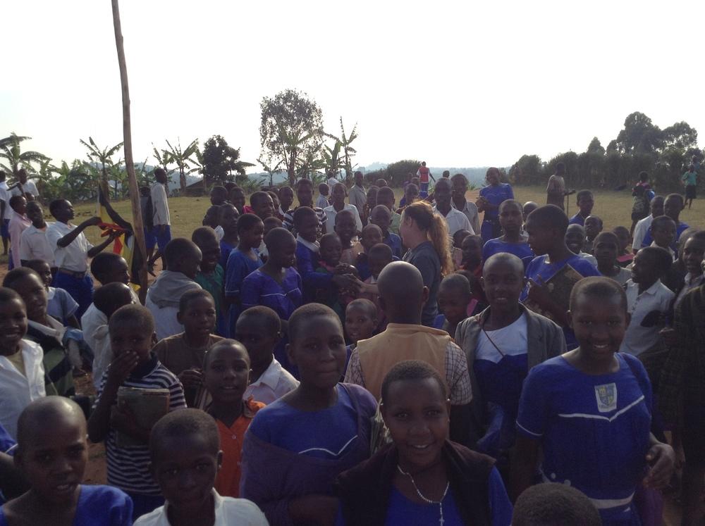 Secondary School in the Rukungiri District, Uganda