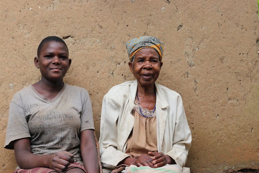 Shillah, and her grandmother. Shillah is 14 years old and in S.1