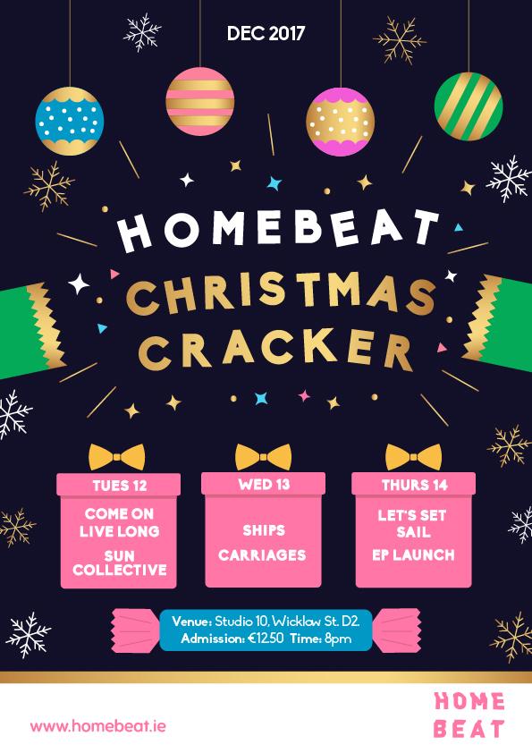 Homebeat Christmas Cracker  - Poster -V.2.jpg