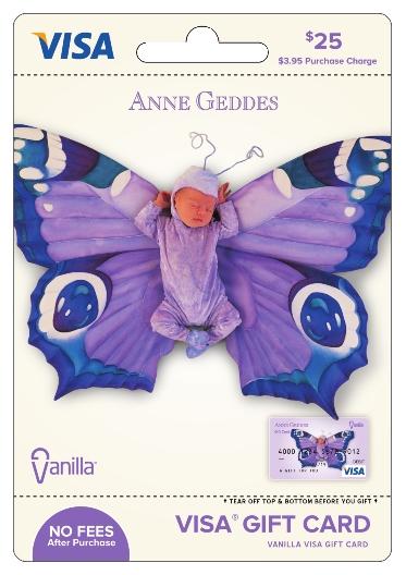 Anne Geddes Vanilla Visa Gift Card