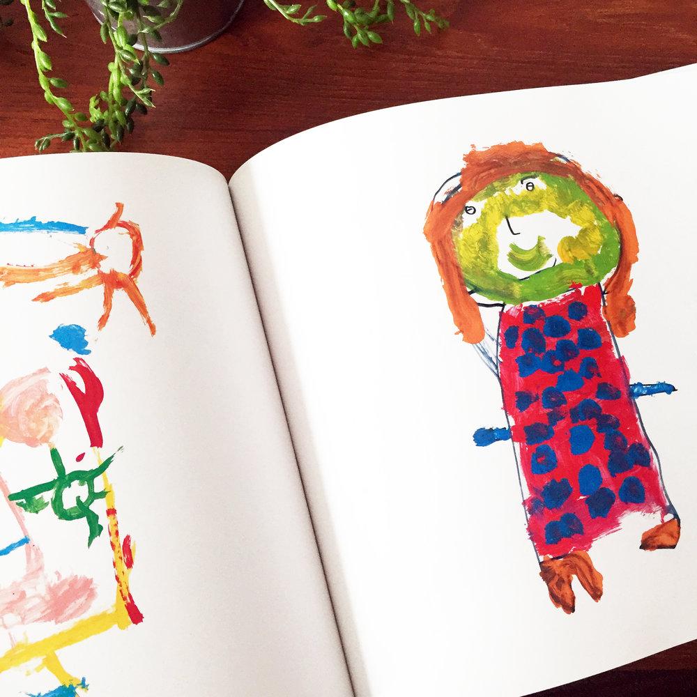 Transform your kid's artwork into high-quality books
