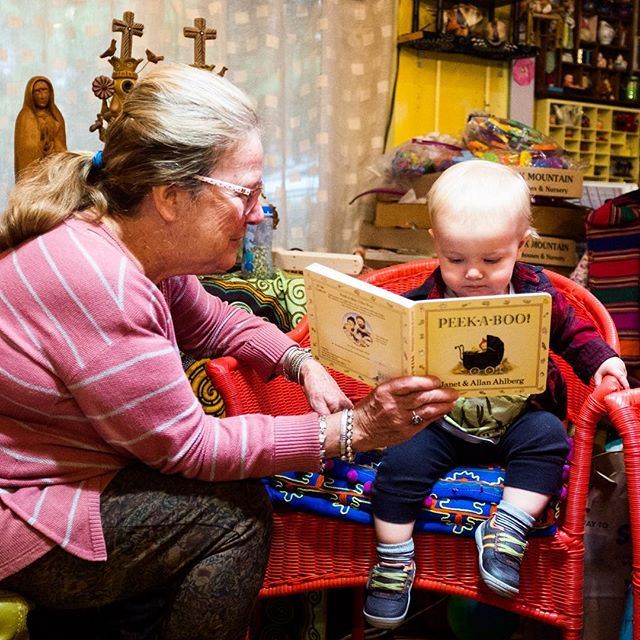 Book learning with Grandma