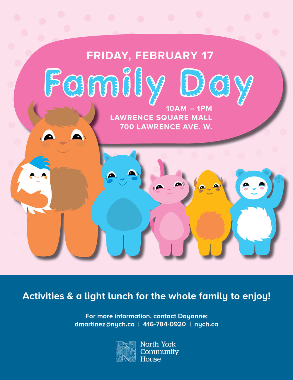 Family day at nych north york community house - Family days enero 2017 ...