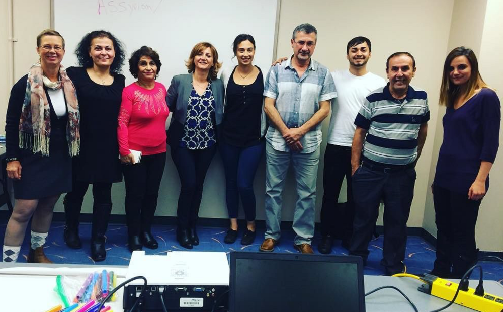 Participants at our previous Assyrian Workshop