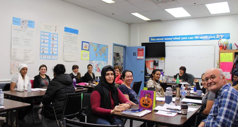 LINC class group photo