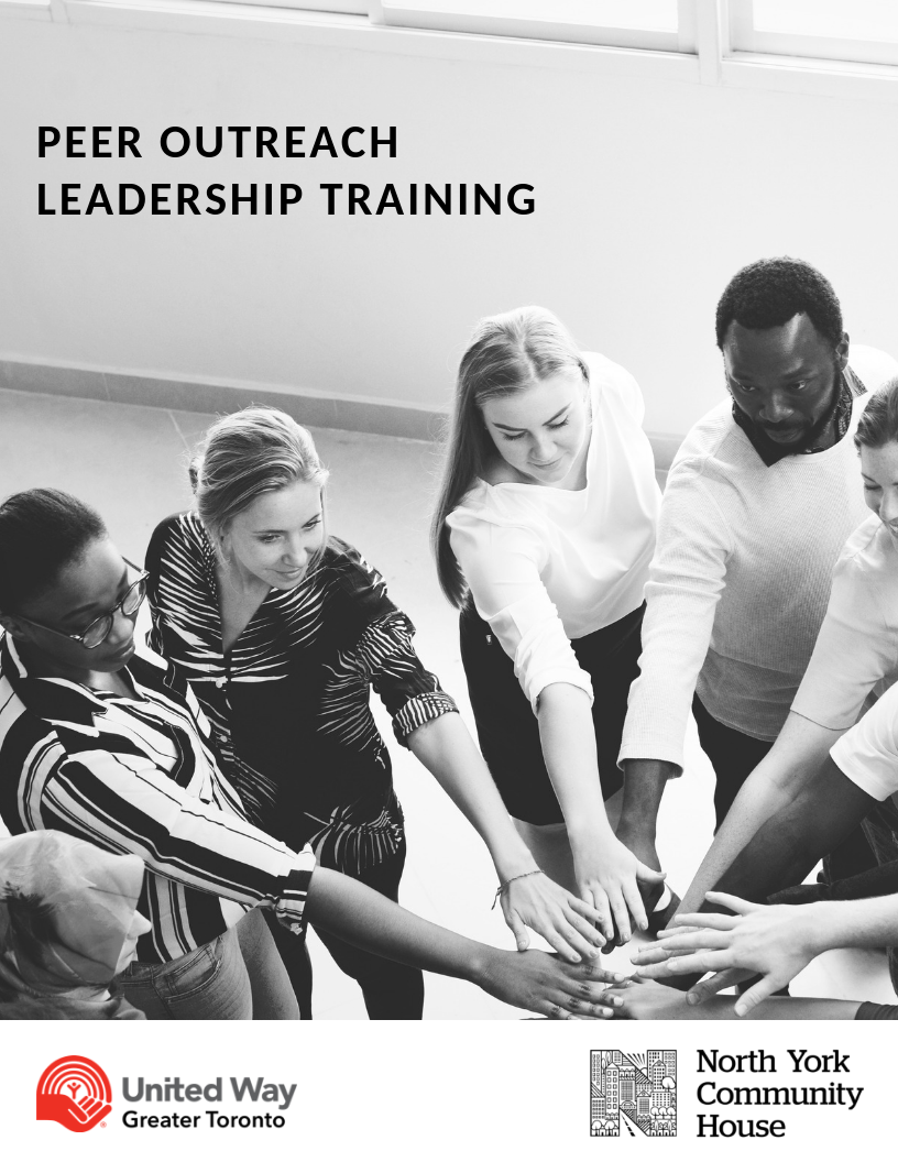 Leadership & Community Engagement Training flyer