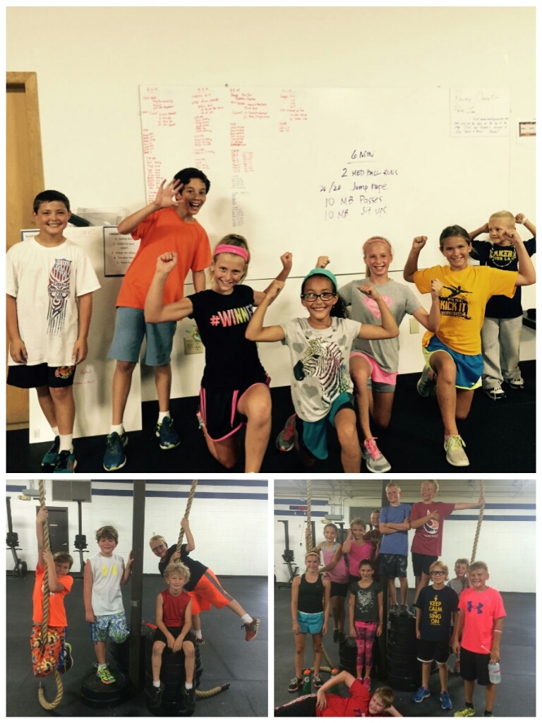 We had some great kids complete our 8 week CrossFit Youth program in Prior Lake!