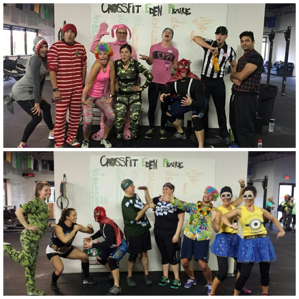 Celebrating Halloween at CFEP with lots of great costumes!