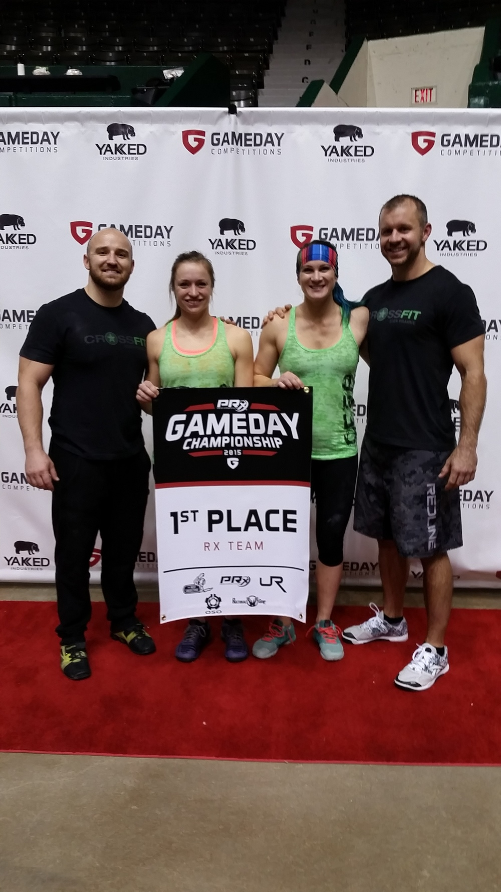 Curt, Kelsey, M'Kelle and Scib represented CFEP/CFPL and took first place last weekend at the Game Day Competition in St. Paul. Great work guys & gals!