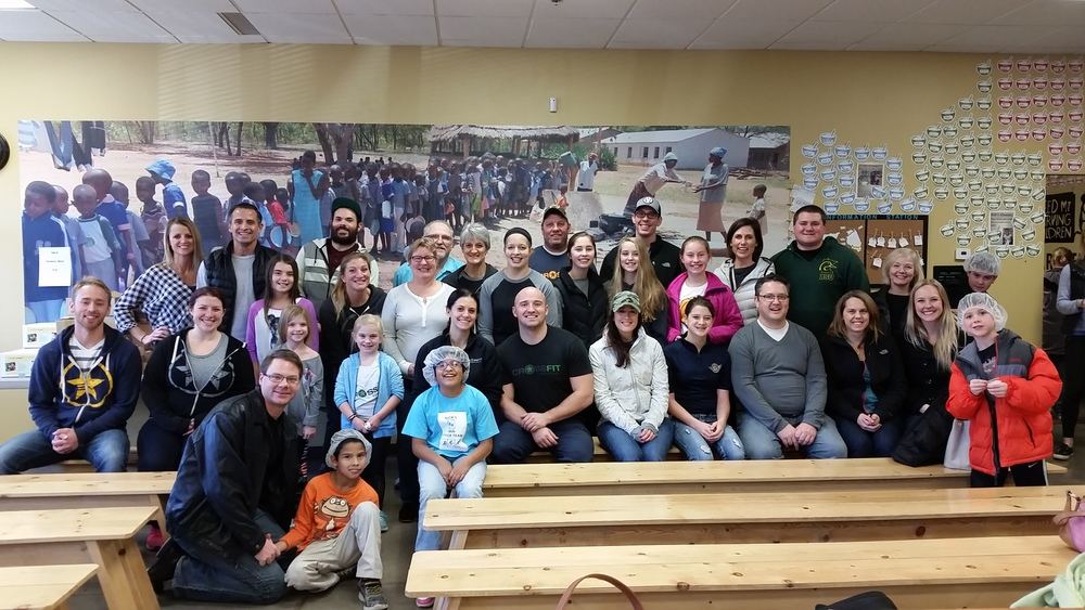 We had a great turnout volunteering at Feed My Starving Children last week. Thanks to all who came!