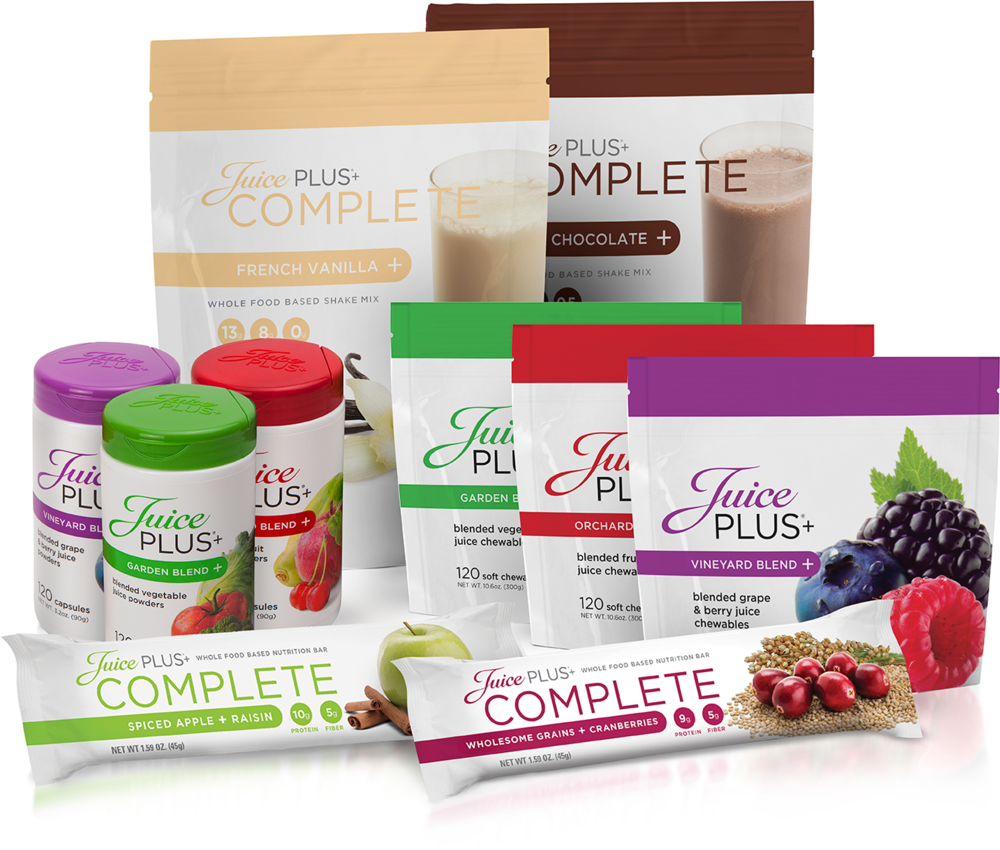 Click Here to Order Juice Plus+ Products & Learn More