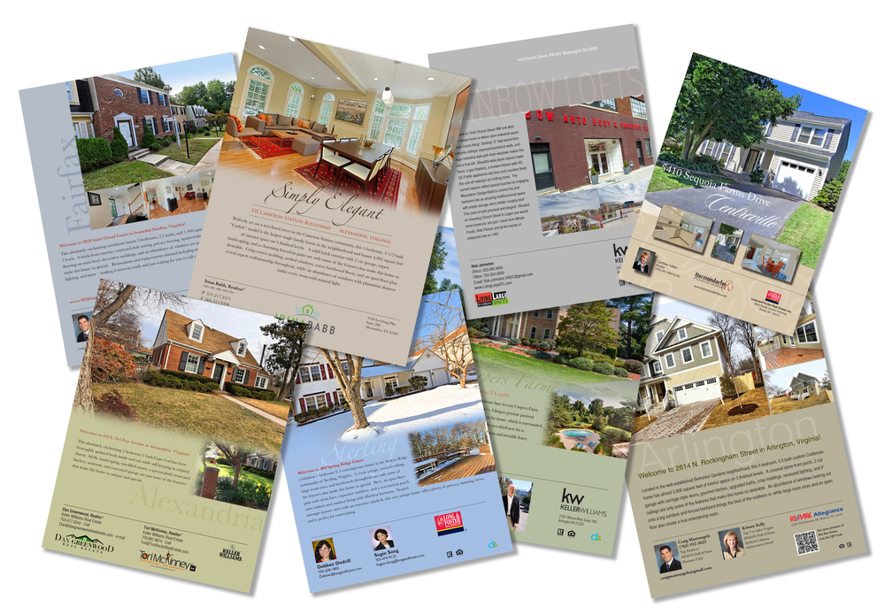 real estate brochures flyers and print ds creative group