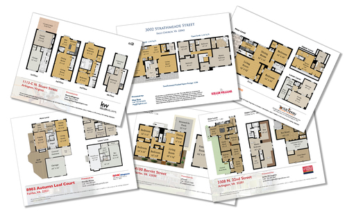 real estate floor plans — ds creative group