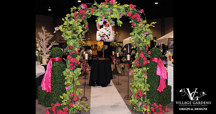 Wrought Iron Wedding Arch - Example 2