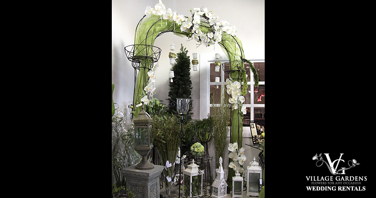 Wrought Iron Wedding Arch - Example 4