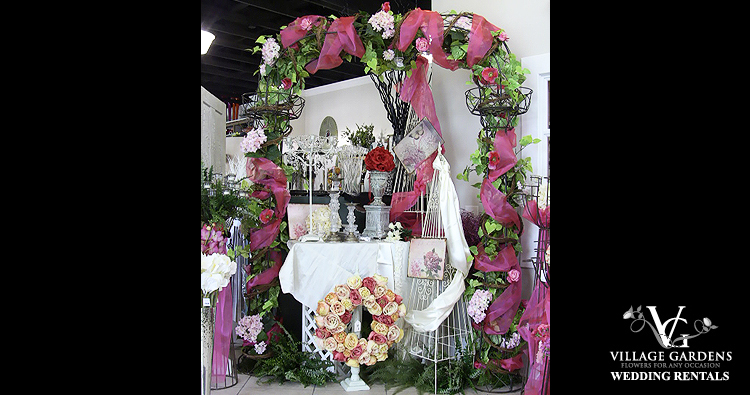Wrought Iron Wedding Arch - Example 1