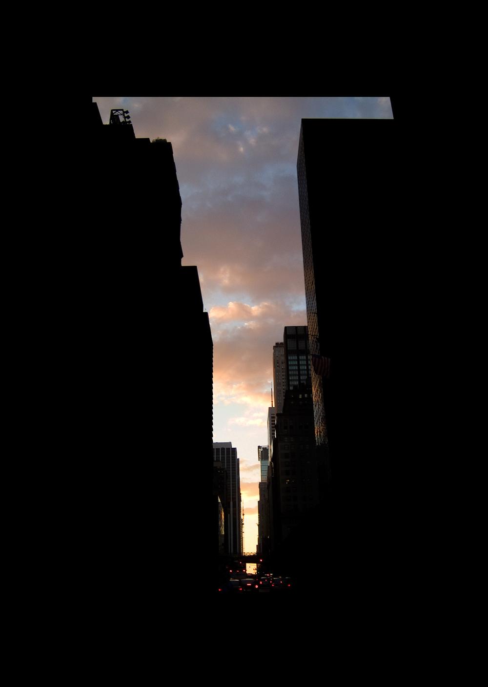"""42ndStreet.  , 7 x 5"""" 2004"""