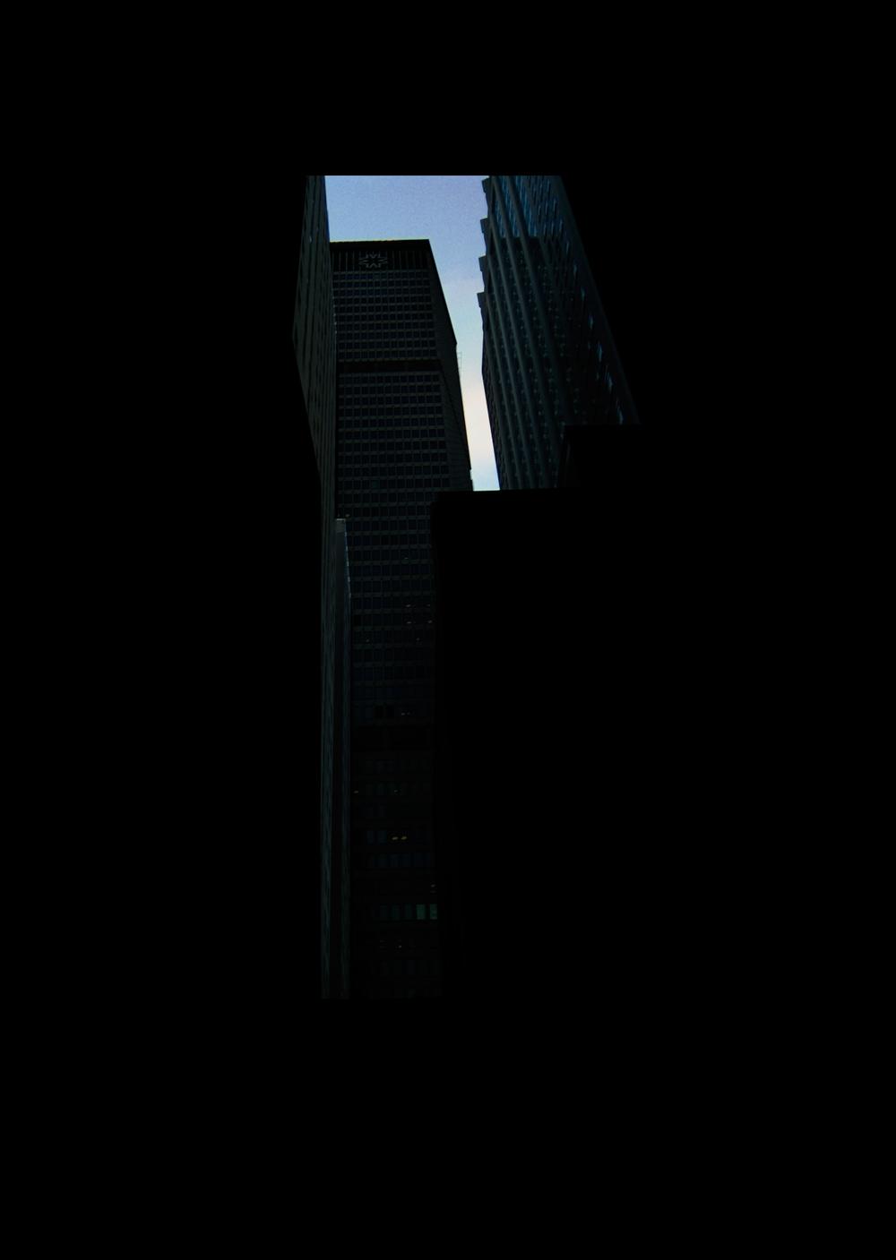 "44thStreet.  , 7 x 5"" 2004"