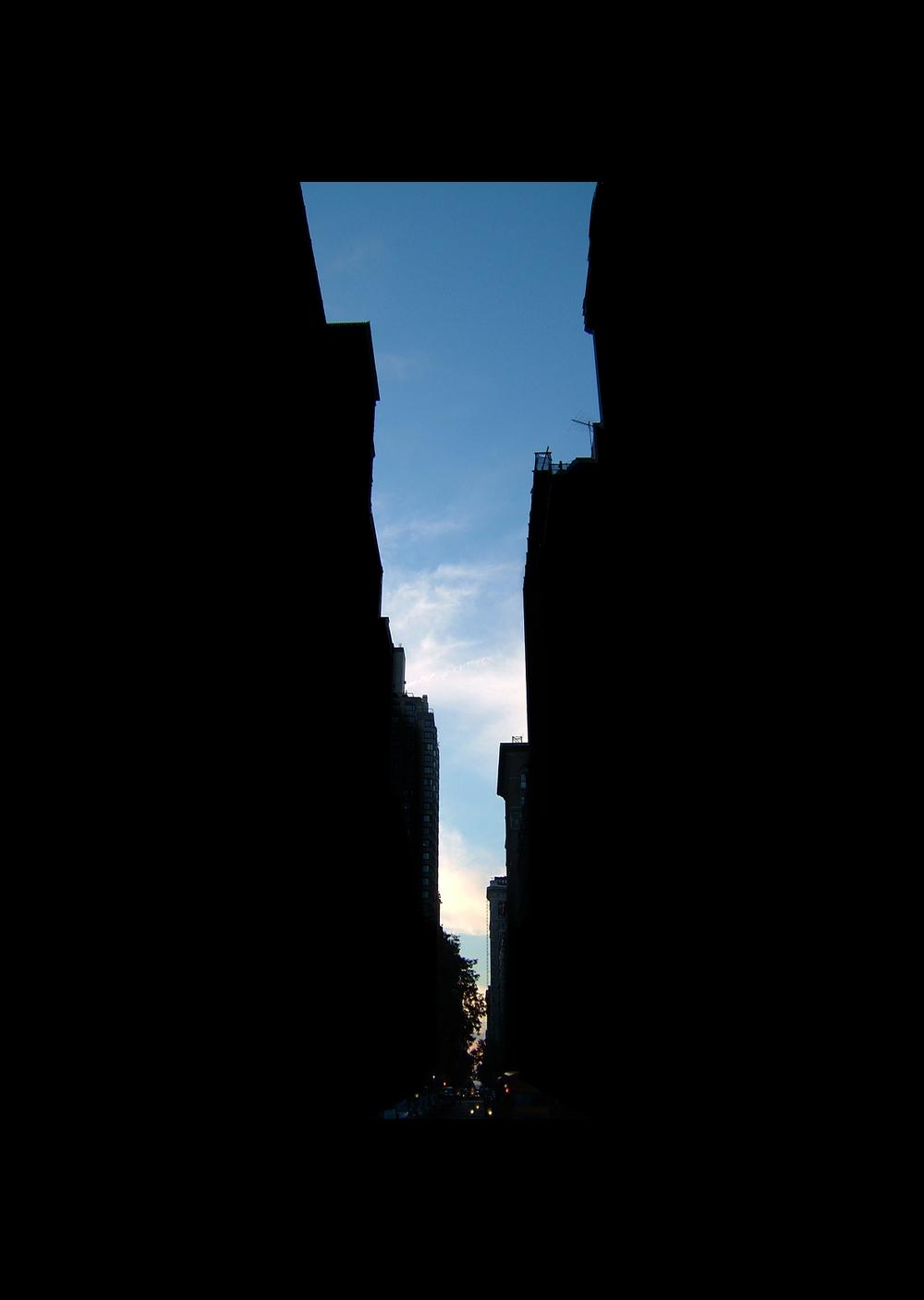 "22nd Street.  , 7 x 5"" 2004"