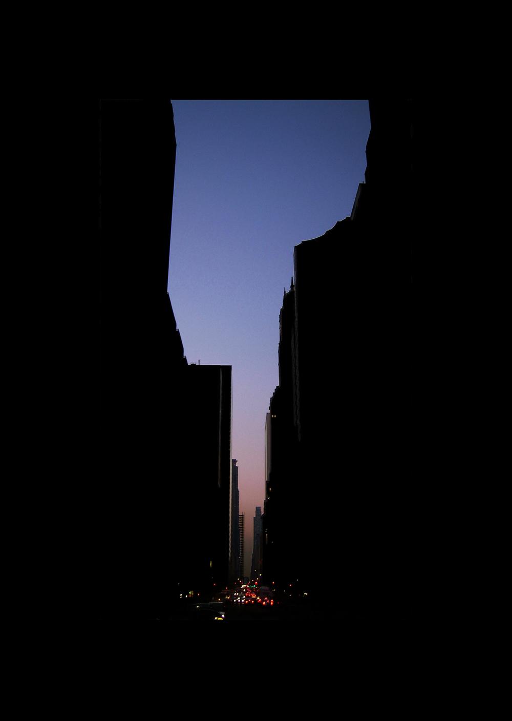 "57thStreet.  , 7 x 5"" 2004"