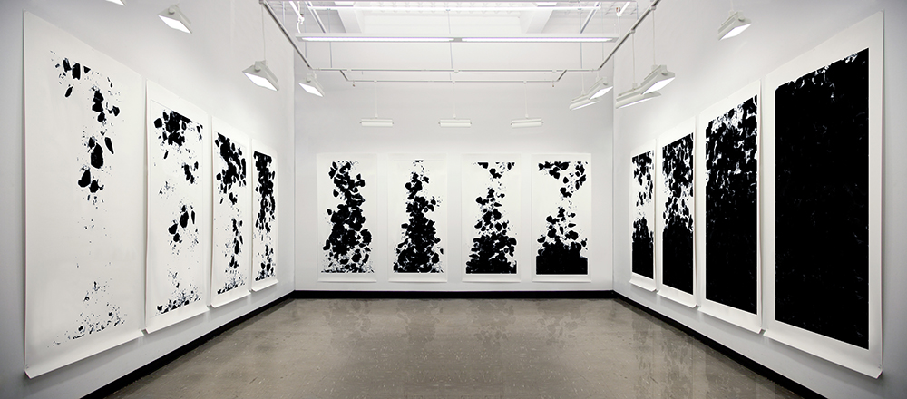 "12 inkjet prints, 90 x 44"" each, 2009"