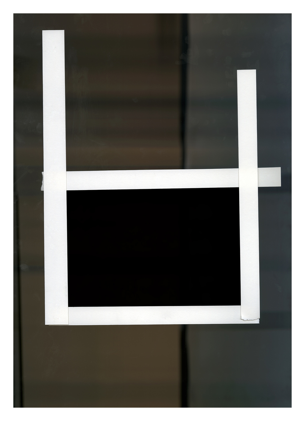 "The Frame   #  7   inkjet print 33.50 x 24"" 2013"