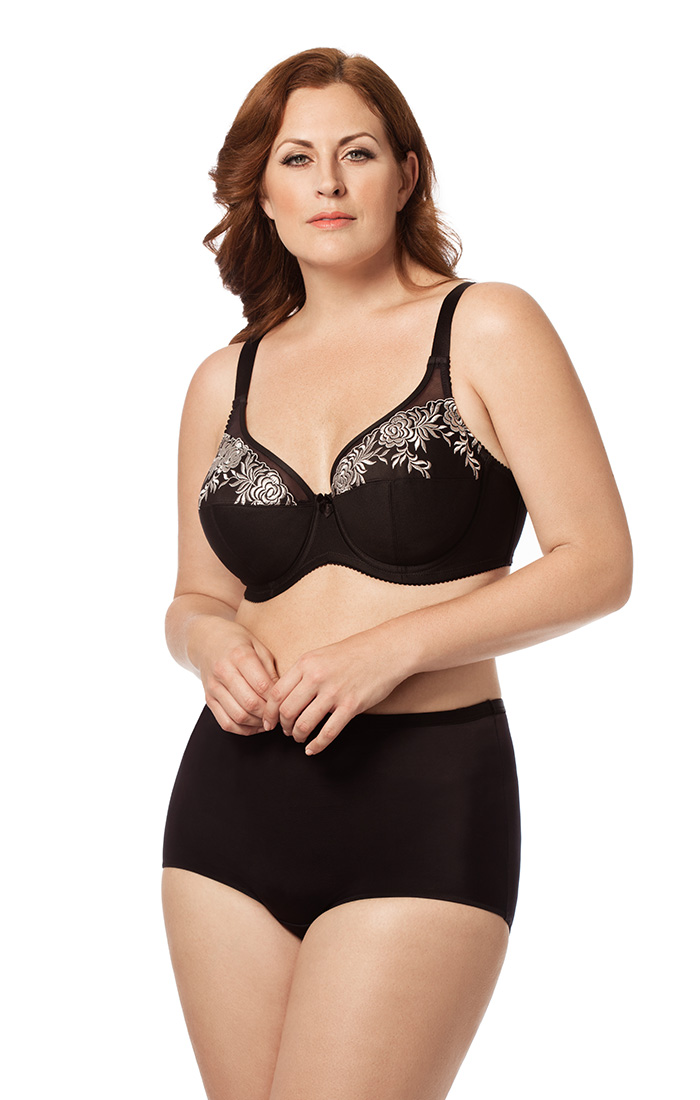 2401 | EMBROIDERED MICROFIBER UNDERWIRE