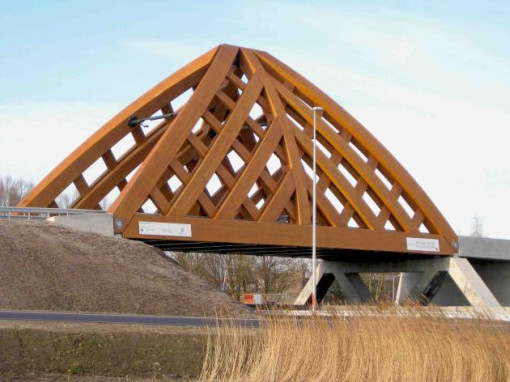 An Accoya bridge in the Netherlands