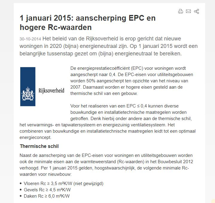 Dutch strict building regulations