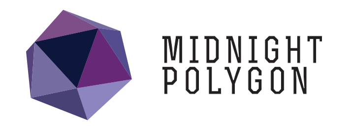 Midnight Polygon | 3D | Illustration | Low Poly | Paper Toys | Animation