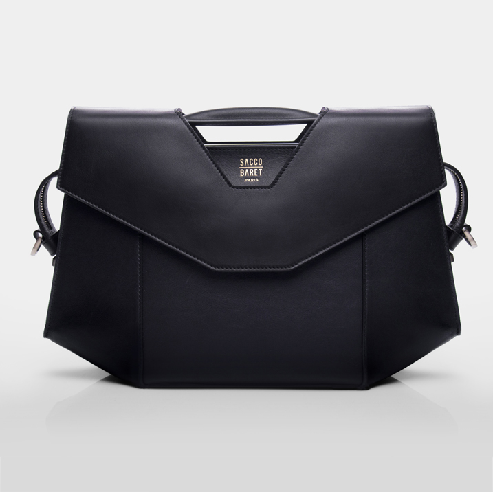 VENDÔME Smooth black calfskin leather SHOP NOW
