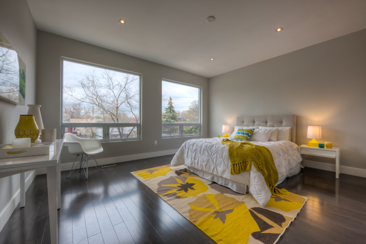 staging a bedroom. New Home Staging  Bedroom For Build or Renovated Homes in Toronto Modern