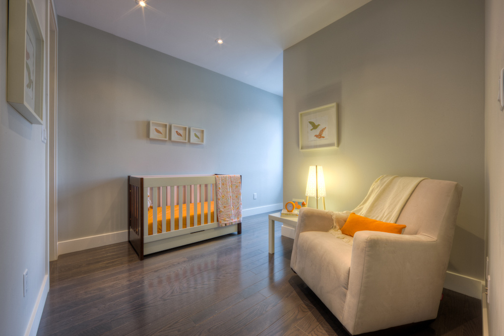 new home staging nursery