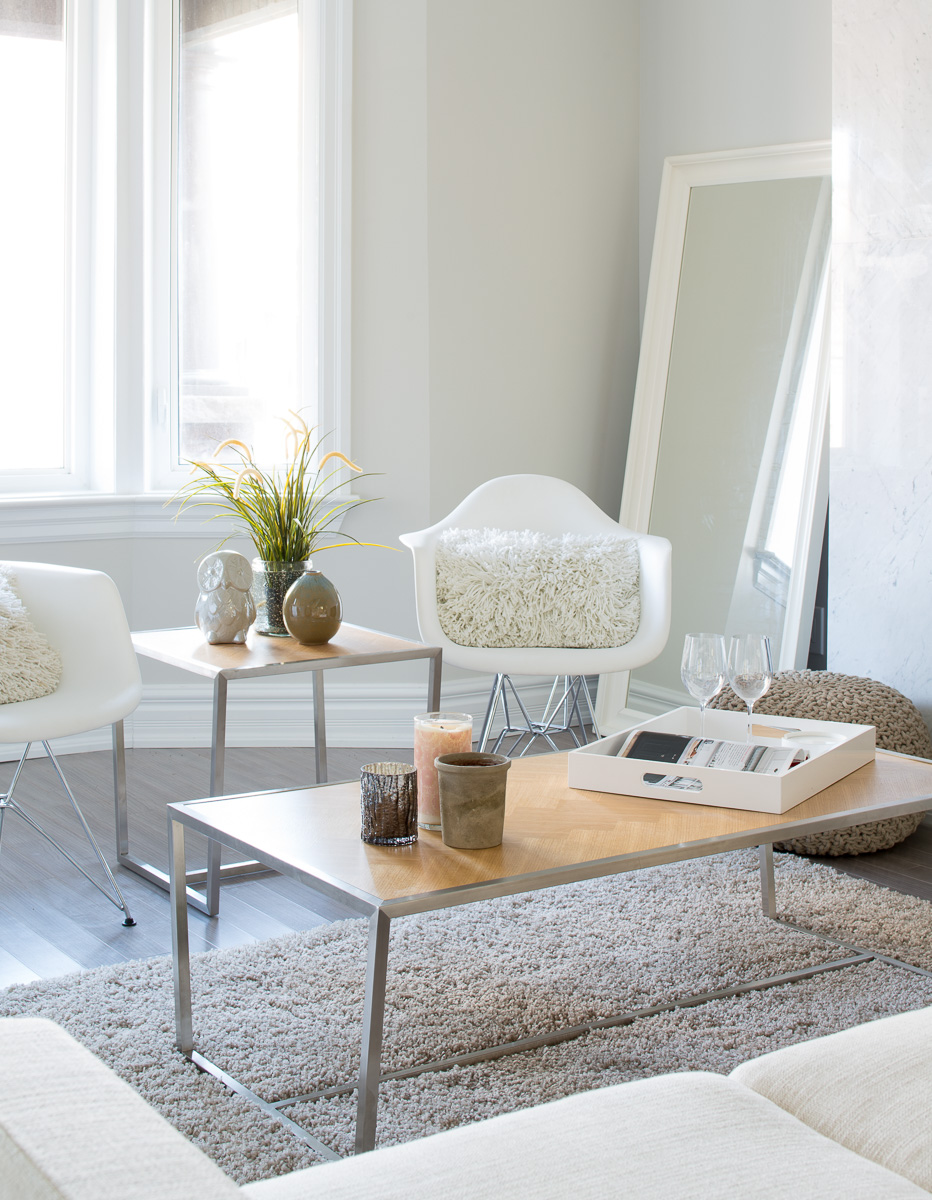 Renovated Home Staging - Sitting Area