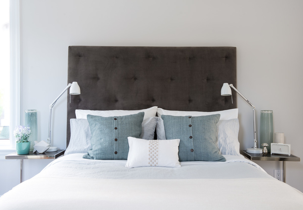Renovated Home Staging - Bedroom