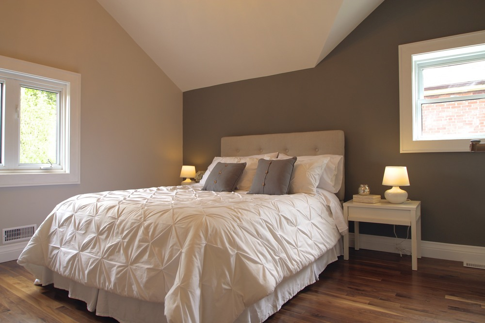 occupied home staging - bedroom