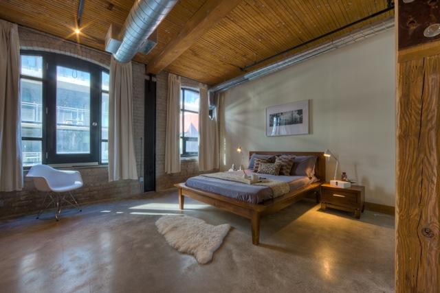 Occupied condo staging - bedroom