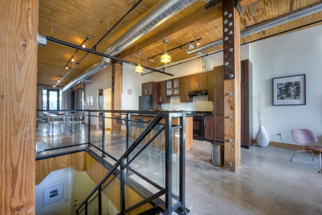 Occupied condo staging
