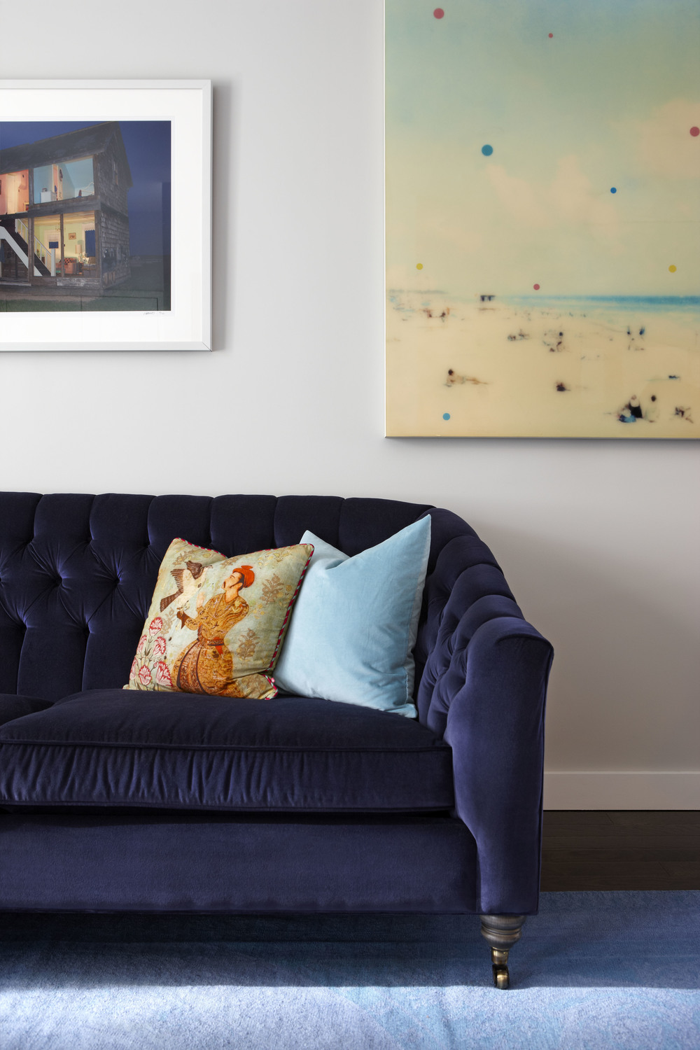 COUCH:  Gresham House Furniture.     Photography:  Nina Teixeira
